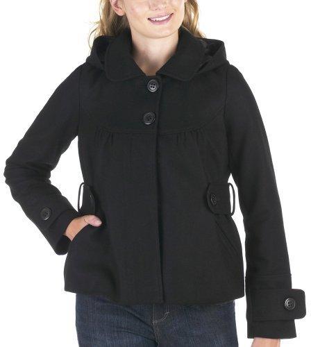 Mossimo Black: Hooded Jacket - Black