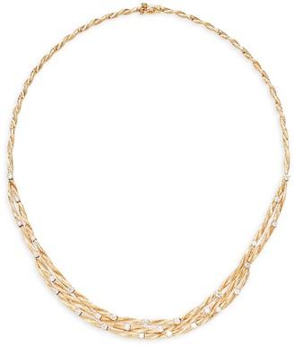 Effy 14K Yellow Gold & Diamond Multi-Strand Necklace