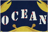 Couristan Gone Crabbing Hooked Rectangle Accent Rug