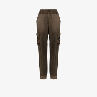 Tom Ford Silk cargo track pants