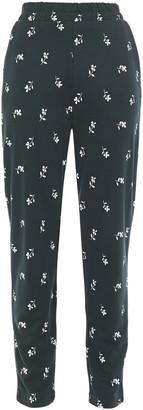Baum und Pferdgarten Printed Ponte Slim-leg Pants