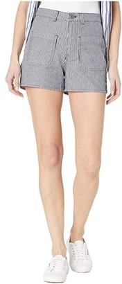 Vans Barrecks High-Rise Cutoffs Shorts (Dress Blues) Women's Shorts