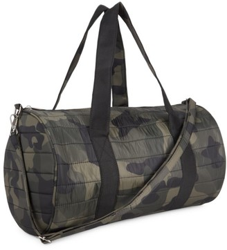 Bari Lynn Camoflauge Duffle Bag