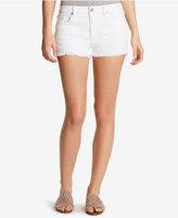 William Rast Star-Embroidered Denim Shorts