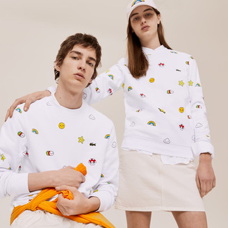 Lacoste Unisex x FriendsWithYou Design Sweatshirt