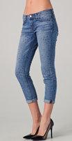 J Brand Aoki Stars Cropped Jeans