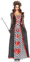 Leg Avenue Women's 2 Piece Wonderland Queen Costume