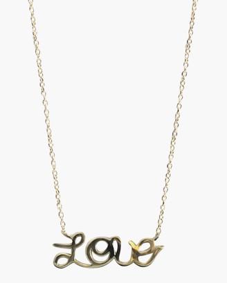 Jac + Jo Love Pendant Necklace