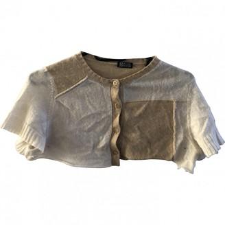 Meadham Kirchhoff Beige Cashmere Knitwear