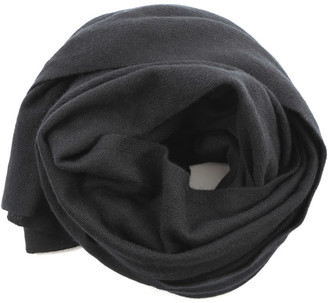 Fingers Crossed Solid Cashmere Scarf