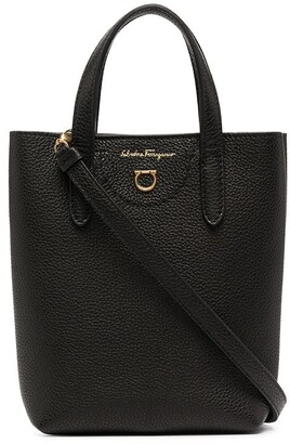 Salvatore Ferragamo Mini Leather Tote Bag