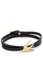 McQ by Alexander McQueen Alexander McQueen Swallow Mini Wrap Bracelet