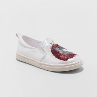 Cat & Jack Girls' Gizela Twin Gore Slip-On Sneakers - Cat & JackTM
