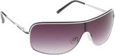 UNIONBAY Men's U929 Color Block Shield Sunglasses