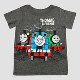 Thomas & Friends Toddler Boys' Thomas The Train Short Sleeve T-Shirt - Gray
