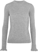 MiH Jeans Harpy Alpaca Sweater - Gray