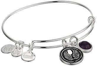 Alex and Ani Duo Charm Bangle Bracelet (Silver/Angel) Bracelet