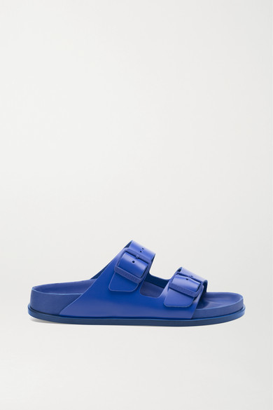 Birkenstock 1774 - Arizona Leather Sandals - Blue
