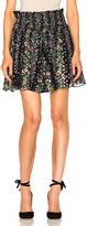 Needle & Thread Floral Stripe Skirt