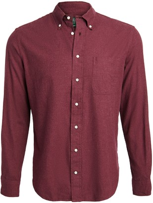 Gitman Brothers Brushed Flannel Button Down Shirt