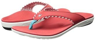 Spenco Candy Stripe (Black) Women's Sandals