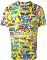 Moschino printed T-shirt - men - Polyester - XS