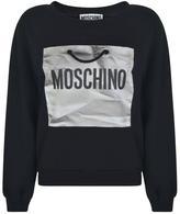 Moschino Paper Bag Logo Sweatshirt