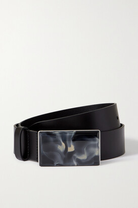 Isabel Marant Luponi Leather Waist Belt - Black