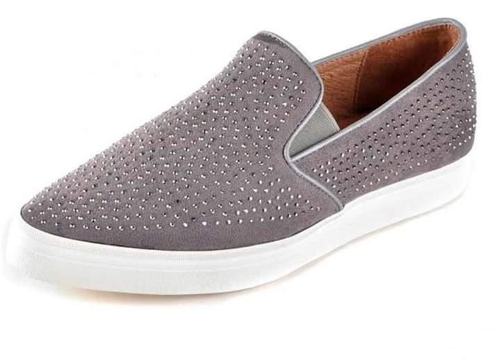 All Black Sparkle Print Shoe