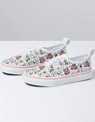 Vans Puppicorns Authentic Elastic Lace Girls Shoes