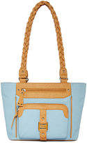 Rosetti Braidy Bunch Double-Handle Tote