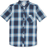 Element Men's Cedar Plaid Cotton Pocket Shirt