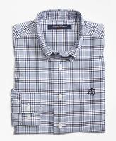 Brooks Brothers Supima® Cotton Oxford Check Sport Shirt