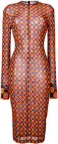 Givenchy patterned dress - women - Polyamide/Viscose - 36
