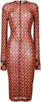 Givenchy patterned dress - women - Polyamide/Viscose - 36