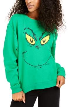 Love Tribe Juniors' Grinch Graphic Sweatshirt