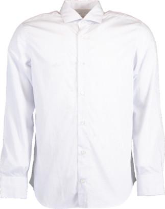 Eleventy Micro Check Button Down Shirt