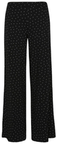 George Polka Dot Jersey Palazzo Trousers
