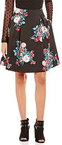 Soulmates Floral-Printed Party Skirt