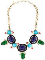 Kenneth Jay Lane Resin Embellished Collar Necklace