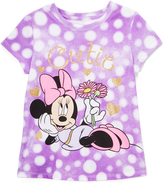 Freeze Minnie Mouse Light Purple Crewneck Tee - Toddler