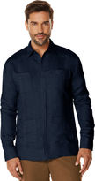 Cubavera Big & Tall Long Sleeve Guayabera