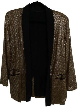 Silvian Heach Gold Polyester Jackets