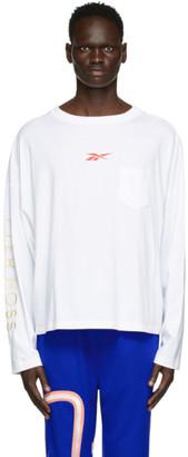 Reebok by Pyer Moss White Pocket Long Sleeve T-Shirt