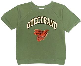Gucci Kids Logo cotton top