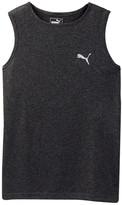 Puma Logo Heather Muscle Tank (Big Boys)