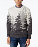 Club Room Men's Big and Tall Treeline Sweater, Only at Macy's