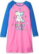 Rene Rofe Big Girls' Glitter Sleepshirt