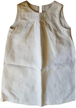 Cacharel White Linen Dresses