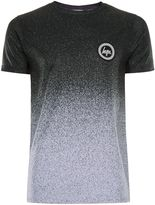 Hype Grey And Black Speckle Fade T-shirt*